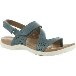 Rockport Cobb Hill Collection Rubey Thong Sling Women's Blue Sandal 11 N found on Bargain Bro India from Shoemall.com for $99.95