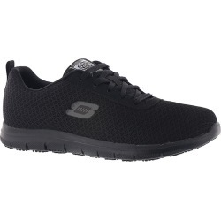 Skechers Work Ghenter-Bronaugh Women's Black Oxford 8.5 W found on Bargain Bro India from Shoemall.com for $63.95