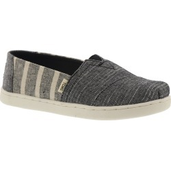 TOMS Alpargata Girls' Toddler-Youth Black Slip On 12 Toddler M found on Bargain Bro Philippines from Shoemall.com for $41.95