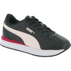 PUMA Turino Stacked Women's Black Sneaker 6.5 M found on Bargain Bro Philippines from Shoemall.com for $59.95