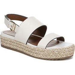 6aaf4d72b3c0 Naturalizer Jaycie Women s White Sandal 6 M found on MODAPINS from Shoemall.com  for USD