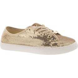 Bebe Dyanna Women's Gold Oxford 6.5 M found on Bargain Bro India from Shoemall.com for $59.95