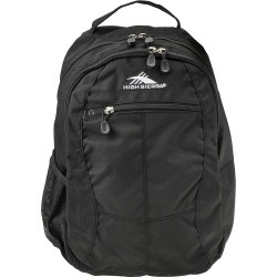 High Sierra Curve Backpack Black Bags No Size