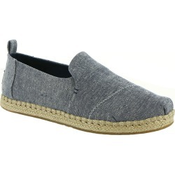 TOMS Deconstructed Alpargata Women's Navy Slip On 6.5 M found on Bargain Bro Philippines from Shoemall.com for $64.95