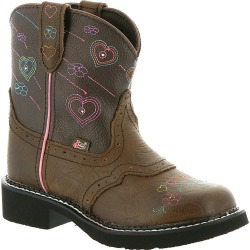 Justin Boots Gypsy Collection 9205JR Girls' Toddler-Youth Brown Boot 12.5 Toddler D found on Bargain Bro India from Shoemall.com for $79.95
