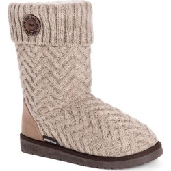 MUK LUKS Janet Women's Tan Boot 7 M found on Bargain Bro Philippines from Shoemall.com for $34.99