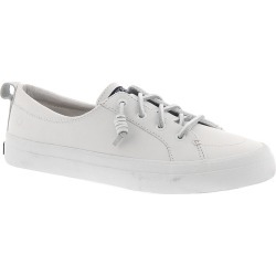Sperry Top-Sider Crest Vibe Leather Women's White Slip On 7 M found on Bargain Bro India from Shoemall.com for $74.95