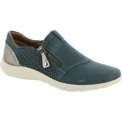 Rockport Cobb Hill Collection Amalie Zipper Slip On Women's Blue Slip On 6 W found on Bargain Bro India from Shoemall.com for $109.95