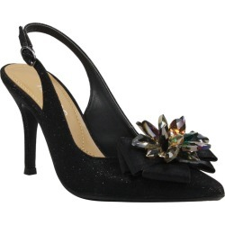 J. Renee Denyell Women's Black Pump 10 W