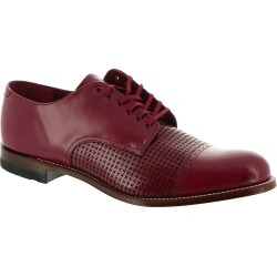 Stacy Adams Madison Cap Toe Oxford Men's Red Oxford 8.5 M found on Bargain Bro India from Shoemall.com for $129.95