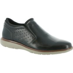 Florsheim Ignight Plain Toe Slip On Men's Black Slip On 8.5 M found on Bargain Bro Philippines from Shoemall.com for $104.95