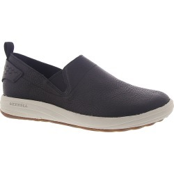 Merrell Gridway Moc Leather Women's Black Slip On 9.5 M found on Bargain Bro India from Shoemall.com for $83.99