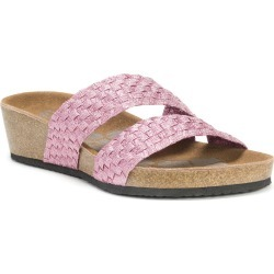 MUK LUKS Heather Women's Pink Sandal 6 M