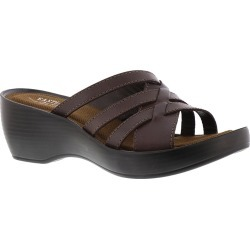 Eastland Poppy Women's Brown Sandal 7 W found on MODAPINS from Shoemall.com for USD $69.95