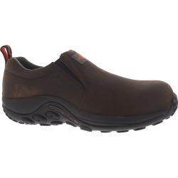 Merrell Work Jungle Moc Leather Comp Toe Men's Brown Slip On 14 W