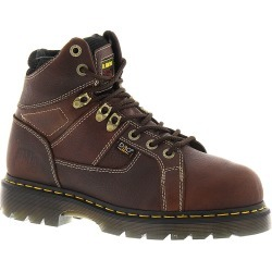 Dr Martens Industrial Ironbridge ST Internal Met Guard Men's Brown Boot UK 8 US 9 M found on MODAPINS from Shoemall.com for USD $159.95
