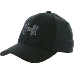 Under Armour Boys' Blitzing 3.0 Cap Black Hats S/M