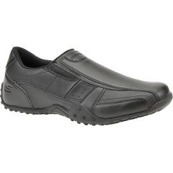 Skechers Work Elston-Kasari Men's Black Slip On 11 M found on Bargain Bro India from Shoemall.com for $60.95