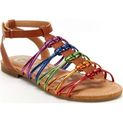 BCBG Girls Cali Girls' Toddler-Youth Tan Sandal 13 Toddler M found on MODAPINS from Shoemall.com for USD $48.95