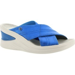 Bzees Vista Women's Blue Sandal 9 M