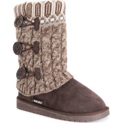MUK LUKS Cheryl Women's Brown Boot 6 M found on Bargain Bro Philippines from Shoemall.com for $34.99