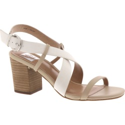 DV by Dolce Vita Kelso Women's White Sandal 7 M found on MODAPINS from Shoemall.com for USD $80.99