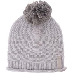 Under Armour Women's Essentials Pom Beanie Grey Hats One Size