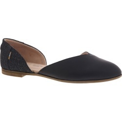 TOMS Julie D'Orsay Women's Black Slip On 7 M found on Bargain Bro India from Shoemall.com for $84.95