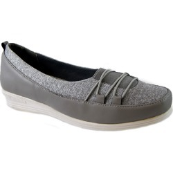 Bees by Beacon Polly Women's Grey Slip On 7.5 M