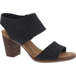 TOMS Majorca Cutout Women's Black Sandal 7.5 M found on Bargain Bro India from Shoemall.com for $80.99