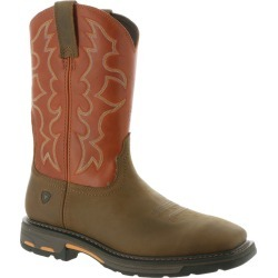 Ariat Workhog Wide Men's Brown Boot 12 B found on Bargain Bro Philippines from Shoemall.com for $189.95