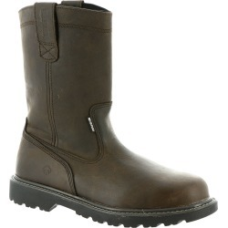 Wolverine Floorhand WP ST Wellington Men's Brown Boot 11 D found on Bargain Bro Philippines from Shoemall.com for $119.95