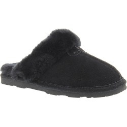 BEARPAW Loki II Women's Black Slipper 6 M found on Bargain Bro from Shoemall.com for USD $45.56