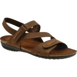 Easy Street Winnie Women's Tan Sandal 7 W found on Bargain Bro India from Shoemall.com for $54.95