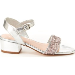 BCBG Girls Hilary Girls' Toddler-Youth Silver Sandal 6 Youth M found on MODAPINS from Shoemall.com for USD $54.95