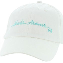 Under Armour Women's Novelty Favorite Cap White Hats One Size