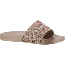 Bebe Fraida Women's Pink Gold Sandal 7 M found on Bargain Bro India from Shoemall.com for $39.95