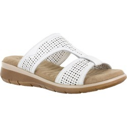 Easy Street Surry Women's White Sandal 9.5 W2 found on Bargain Bro from Shoemall.com for USD $53.16
