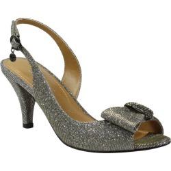 J. Renee Luanda Women's Pewter Sandal 11 M found on Bargain Bro from Shoemall.com for USD $68.36