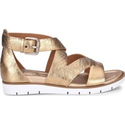 Sofft Mirabelle Women's Gold Sandal 7.5 M found on Bargain Bro India from Shoemall.com for $89.95