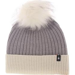 Smartwool Women's Powder Pass Beanie Grey Hats One Size