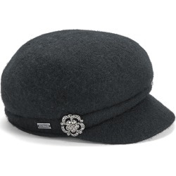 Crystal Cap Black Hats One Size