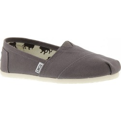 TOMS Core Canvas Classics Women's Grey Slip On 12 M found on Bargain Bro Philippines from Shoemall.com for $49.95
