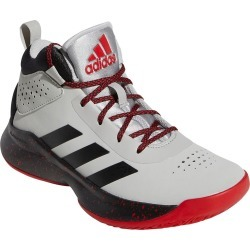 adidas Cross 'Em Up 5 K Kids Toddler-Youth Grey Basketball 11 Toddler M found on Bargain Bro India from Shoemall.com for $54.95