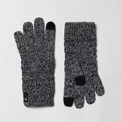 Boys Grey waffle knit touch screen gloves found on MODAPINS from River Island - UK for USD $7.59