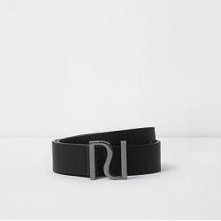 Boys Black RI pin buckle belt found on MODAPINS from River Island - UK for USD $10.12