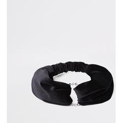 Womens Black velvet headband found on MODAPINS from River Island - UK for USD $12.65