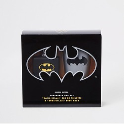 Boys Batman eau de toilette duo set found on MODAPINS from River Island - UK for USD $12.65