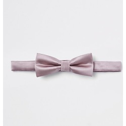 Boys Pink satin bow tie found on MODAPINS from River Island - UK for USD $7.59