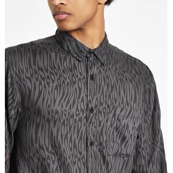 Bellfield Black leopard print shirt found on MODAPINS from River Island - UK for USD $19.96